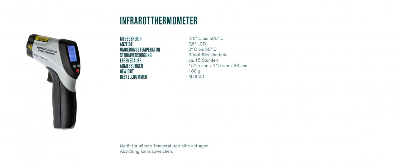Infrarotthermometer